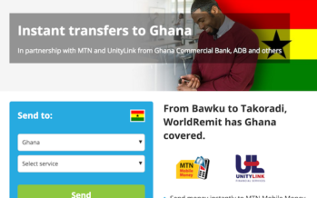 Easy, Affordable and Super Convenient: WORLD REMIT Allows You to Instantly Send Money to Ghana–Even to Recipient's Mobile Money Wallet